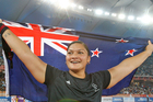 Valerie Adams will attempt to defend her shot put title on Tuesday morning. Photo / Brett Phibbs