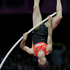 Germany's Bjorn Otto competes to win bronze in the men's pole vault final. Photo / AP