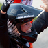 Sarah Walker after winning a silver medal in the final of the Women Cycling BMX. Photo / Brett Phibbs