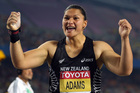 Valerie Adams is a winner again, but she can't come straight home to celebrate. Photo / Getty Images