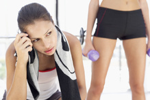 Are there antics at the gym that make you mad?