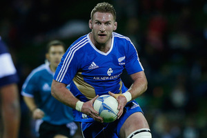 Kieran Read says his rib has fully healed and he is ready to lead the assault on a Wallabies forward pack which the All Blacks regard as an area ripe for exploitation. Photo / Getty Images.