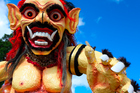 A Balinese monster at Ubud. Photo / Thinkstock