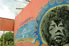 La Caravane de Jimi, a cafe in Diabat, Morocco, dedicated to guitarist Jimi Hendrix. Photo / Creative Commons image by Flickr user xoan