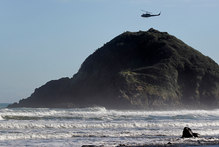 The search continues for three people missing in Taranaki. Photo / File