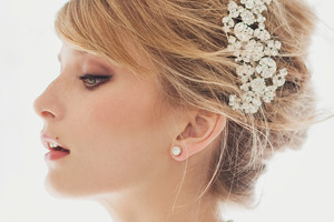 Bridal beauty takes centre stage when the big day is all about the woman in white. Photo / Thinkstock