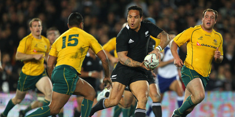 Hosea Gear is determined to make more of his All Black opportunities. Photo / Getty Images