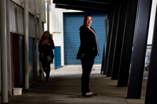 Kylie Urwin aims to move teenage mothers away from long-term benefit dependency. Photo / Steven McNicholl