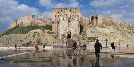 Regime forces  have occupied  Aleppo's castle - a World Heritage  site. Photo / Supplied