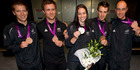 View: Kiwi Olympians welcomed home