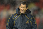 One of the names on the top 10  list was the Wallabies' own  coach, Robbie Deans. Photo / Getty Images