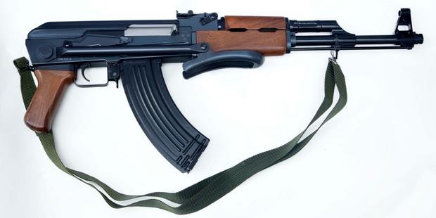 An AK-47 (kalashnikov). Photo / Getty Images