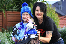 Alea Starr-Smith with her mum, Dianne Smith. Photo / Visionmedia