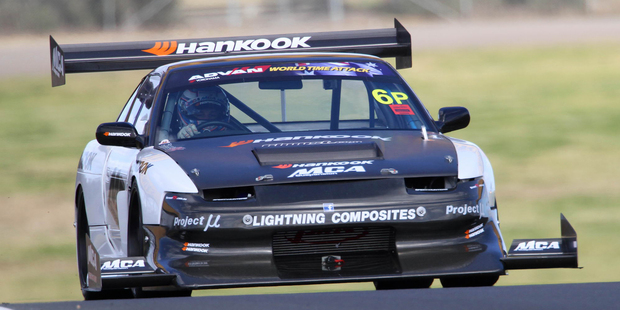 Earl Bamber overcame a succession of problems to finish third in Sydney. Photo / Alastair Ritchie