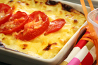 Macaroni and cauliflower cheese. Photo / Doug Sherring