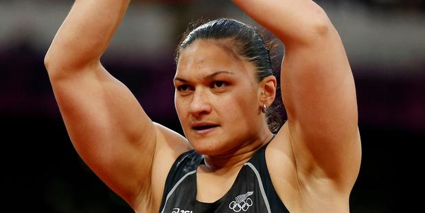 Loading Valerie Adams has now taken gold. Photo / AP