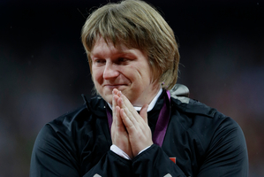Nadzeya Ostapchuk, stripped of the shot put gold medal, is merely the most notable alleged drug cheat unmasked so far, one of about a dozen positive tests. Photo / AP
