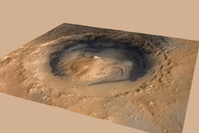 India is planning an orbit of Mars, where the United States has landed its Curiosity rover in the Gale Crater. Picture / AP