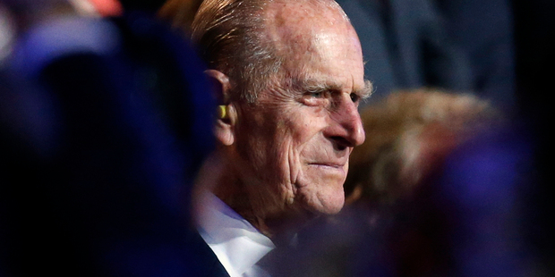 July 27, 2012 file photo, Britain's Prince Philip, the Duke of Edinburgh attends the Opening Ceremony at the 2012 Summer Olympics. Photo / AP