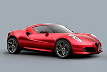 Alfa Romeo 4c's soft-top is tipped to appear in 2014-15. Photo / Supplied