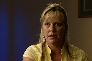 Psychic investigator Deb Webber from the TV2 show Sensing Murder. Photo / Supplied