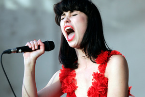 Kiwi pop sensation Kimbra. Photo / Michael Craig