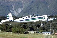 The Fletcher ZK-EUF that was lost at Fox Glacier. Photo / File