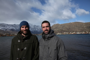 Chris Thomson (left) and Ben Ryan were amazed how quickly their fund-raising target was met on a US-based crowd funding website.