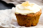 Pumpkin ginger almond cakes. Photo / Babiche Martens