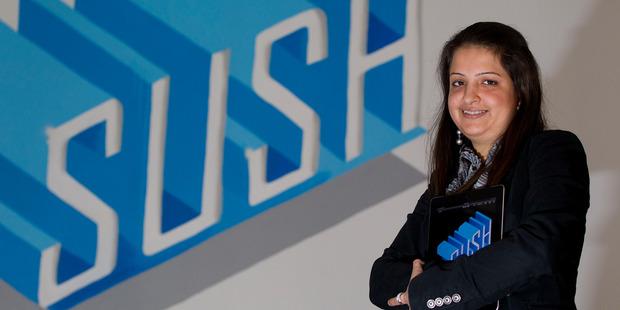 Sheenu Chawla, managing director of Sush Mobile. Photo / Sarah Ivey
