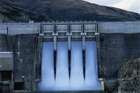 The spillway at Contact Energy's Clyde Dam. Photo / supplied.