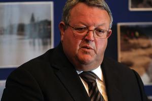 Transport Minister Gerry Brownlee. Photo / Greg Bowker