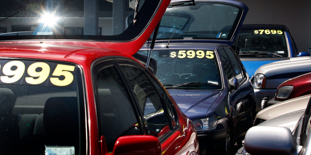 Tougher standards have pushed up the price of used imports, making new cars seem more attractive. Photo / Sarah Ivey