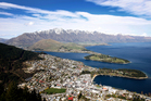 A view of Lake Wakatipu and Queenstown. Photo / Sarah Ivey