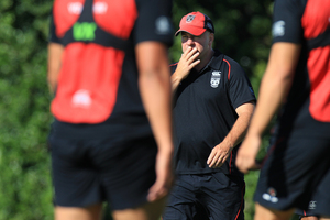 Brian McClennan's mistakes as Warriors coach became amplified after the club's bosses predicted great times ahead. Photo / Greg Bowker