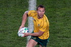 Australia's Quade Cooper. Photo / Richard Robinson