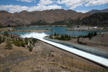 Meridian has had the worst inflows into its hydro lakes for 79 years. Photo / Simon Baker