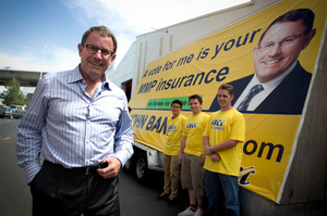 John Banks says the commission has buckled under pressure to scrap the threshold. Photo / Natalie Slade