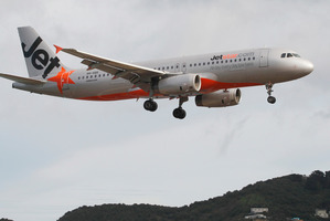 The aircraft was never in danger, said Jetstar. Photo / File / Mark Mitchell