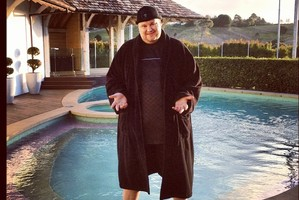 A police form described Kim Dotcom's assault complaint as 'minor'. Photo / Supplied
