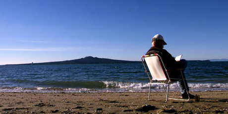 Rangitoto Island is one of Auckland's dormant volcanoes. Photo / Glenn Jeffrey