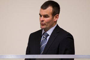 Ewen Macdonald in court. Photo / Sarah Ivey