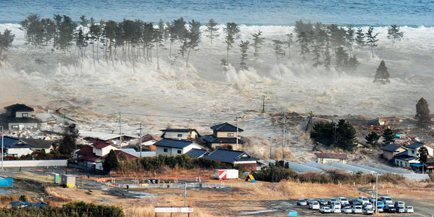 The Government has budgeted $299 billion for rebuilding from last year's earthquake and tsunami. Photo / AP