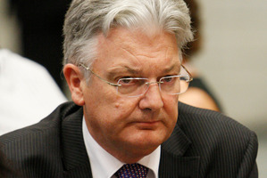 Peter Dunne. File photo / Wayne Drought