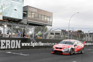 V8 supercars will be moving from Hamilton back to Auckland. Photo / NZPA File