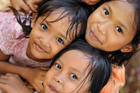 Take time to chat to Balinese children who like to practise their English on visitors. Photo / Getty Images.