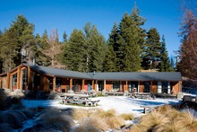 The holiday park covers more than 24ha and boasts a broad frontage to Lake Tekapo.