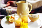 Lemon barley water is a great comfort drink for when you're feeling off-colour. Photo / Doug Sherring