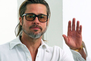 Brad Pitt has congratulated Jennifer Aniston on her engagement. Photo / AP
