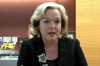 Justice Minister Judith Collins responds to the Law Commission report on cyber-bullying.